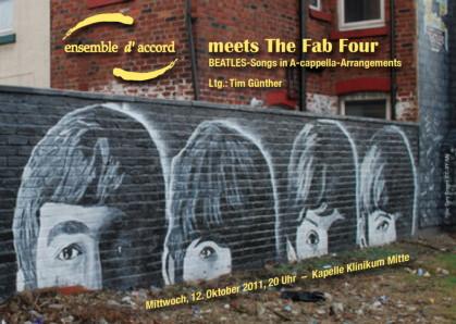 ensemble d´accord meets The Fab Four